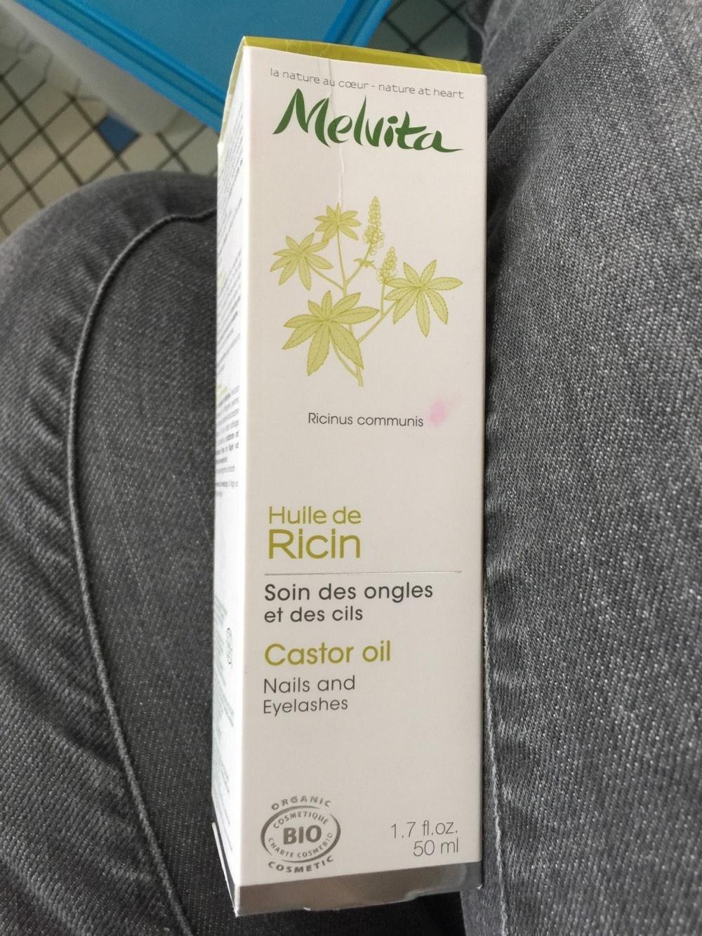 Huile Végétale Ricin Bio - 50 ML - Melvita - Produit - fr