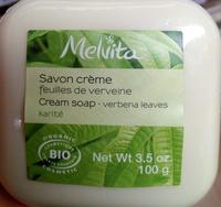 Savon crème feuilles de verveine - karité - Product - fr