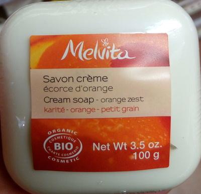Savon crème écorce d'orange - karité – orange – petit grain - Product - fr