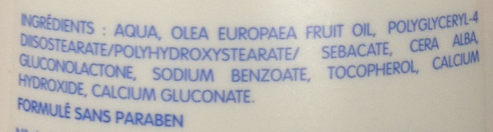 Liniment oléo-calcaire - Ingredients