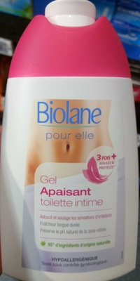 Gel apaisant toilette intime - Product