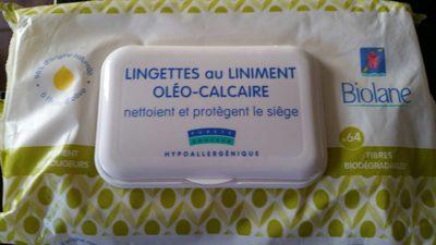 Lingettes au liniment oleo-calcaire - Product - fr