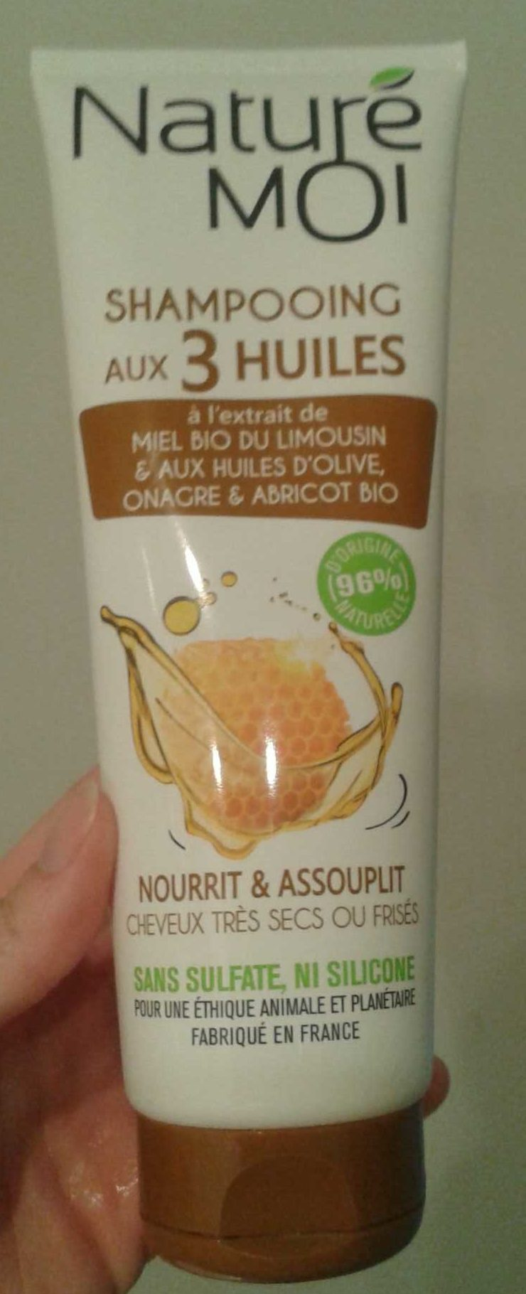 Shampooing aux 3 Huiles - Product - fr