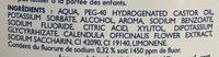 Homéocaryl Bain de bouche arôme Chlorophylle - Ingrédients
