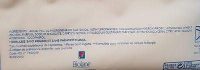 Biolane Lingettes épaisses H2O - Product