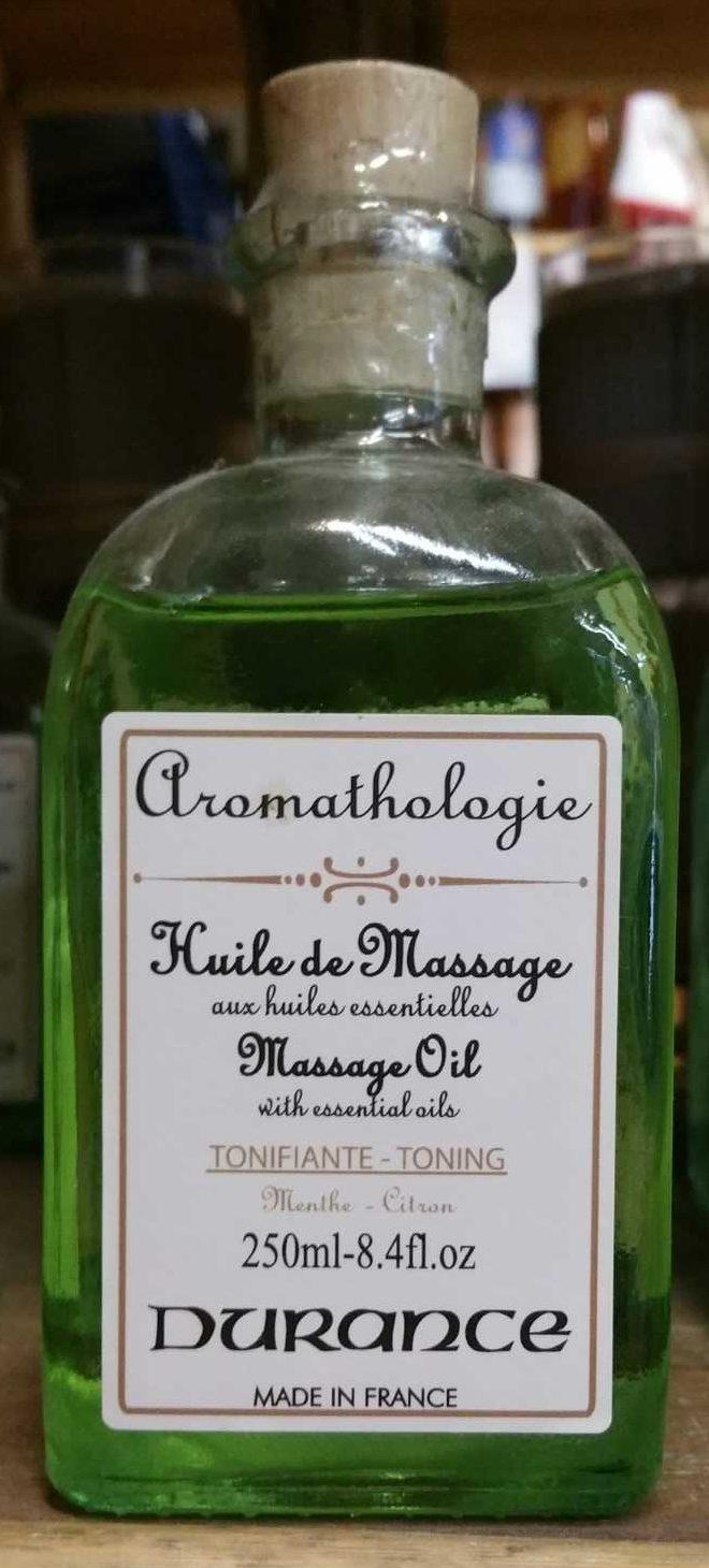 Huile de massage aux huiles essentielles - Product - fr