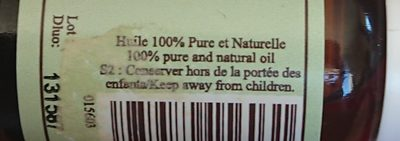 Huile essentielle de menthe poivrée - Ingredients - fr