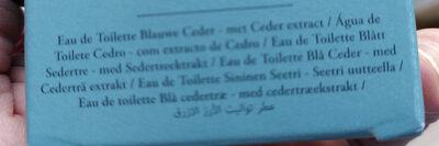 Cèdre bleu - Ingredients - de