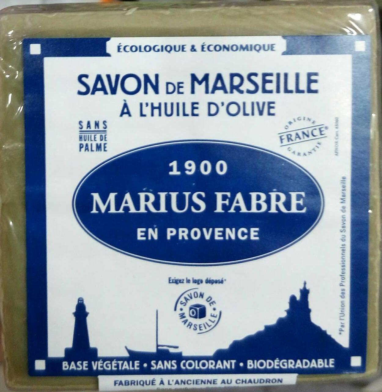 Savon de Marseille à l'huile d'olive - Produit - fr