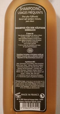 Shampoing Usages Fréquents aux Huiles Essentielles - Product
