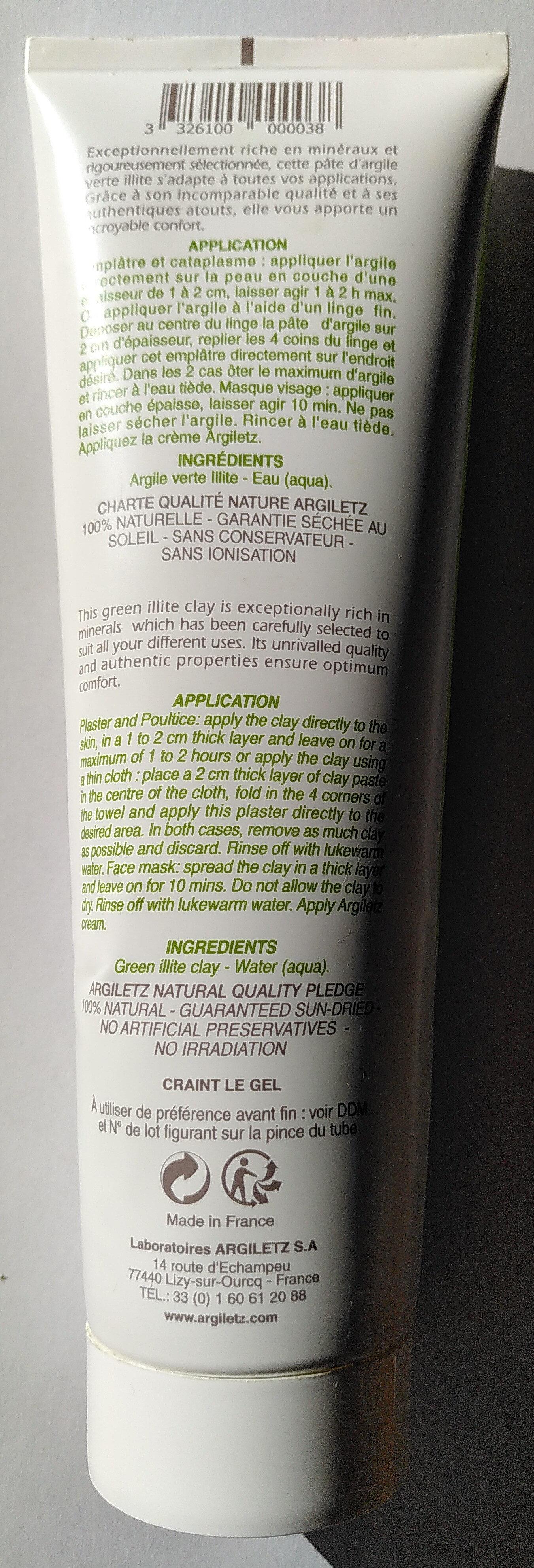 Pâte argile verte - Product - en