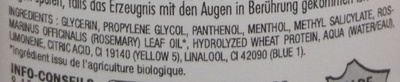 Actigro Serum acticroissance - Ingredients
