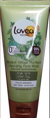 Masque visage purifiant Argile verte - Product
