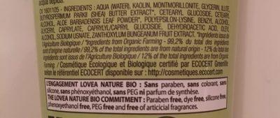 Lovea L'argile Masque Purifiant Rose 75 ML (Voraussichtlich Ab 31.12.2016 Wieder Verfügbar) - Ingrédients