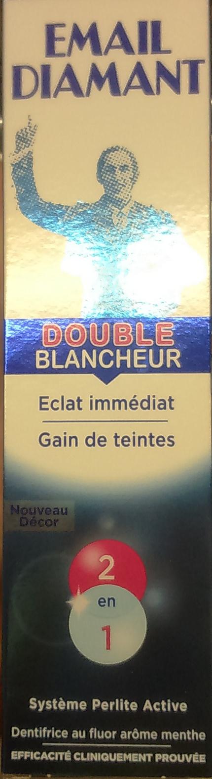 Dentifrice au fluor arôme menthe - Produit