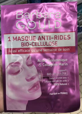 1 Masque Anti-Rides Bio-Cellulose - Product - fr