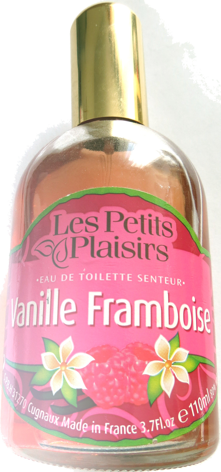 Eau de toilette senteur Vanille Framboise - Produit - fr