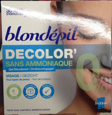 Decolor' sans ammoniaque - Product - fr