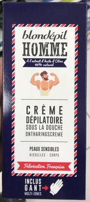 Crème dépilatoire sous la douche Homme Peaux sensibles - Product - fr