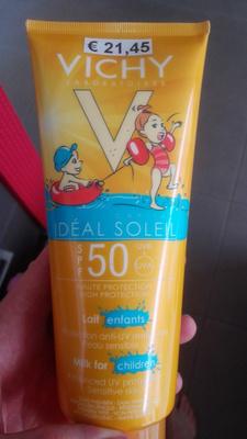 Lait solaire enfant SPF 50 - Produit