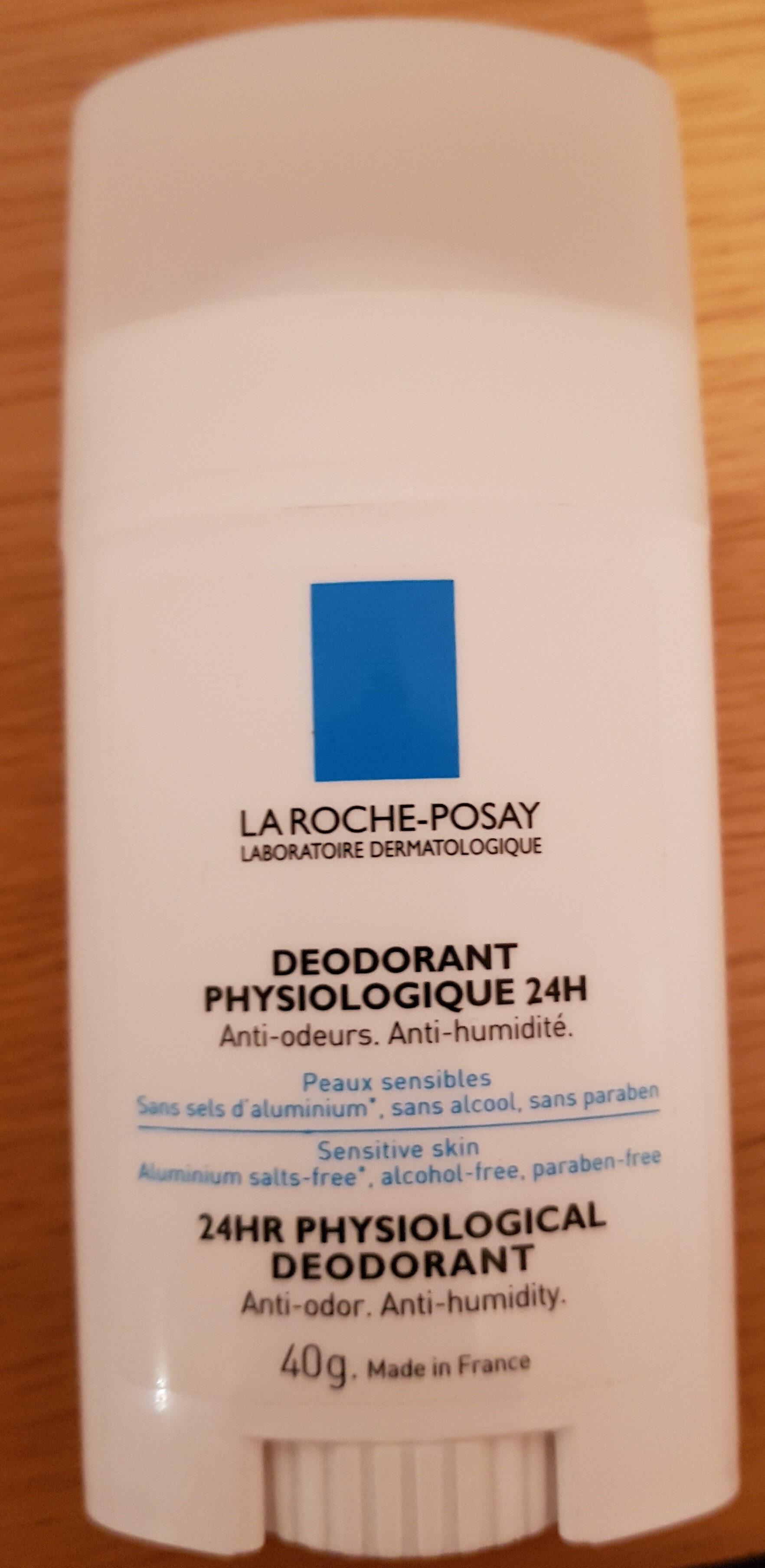 déodorant 24h peaux sensibles - Produit - en