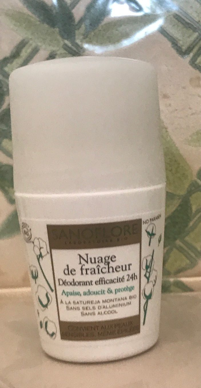 Nuage de fraicheur Deodorant 50ML - Produit