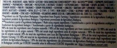Crème des reines Riche - Ingrédients - fr