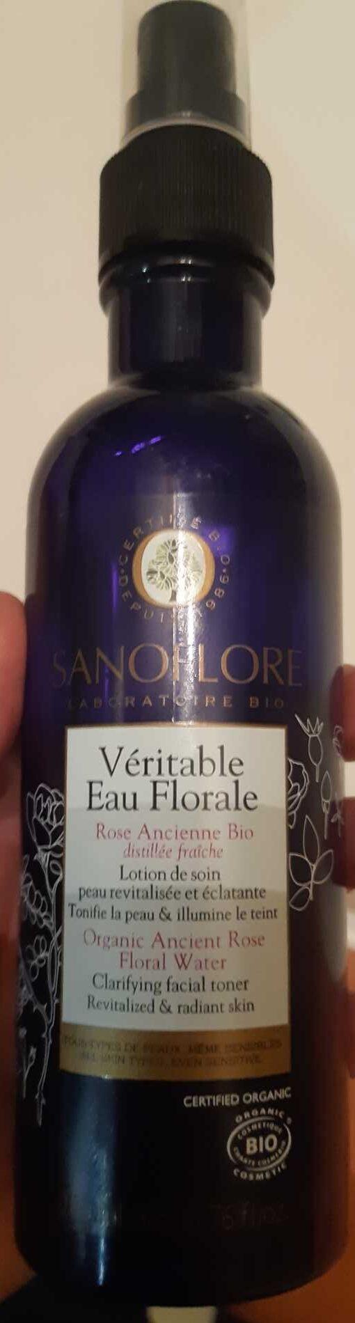 Véritable eau florale - Produit