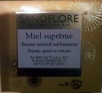 Miel suprême Baume nutritif sublimateur - Produit