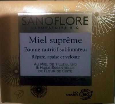 Miel suprême Baume nutritif sublimateur - Product - en