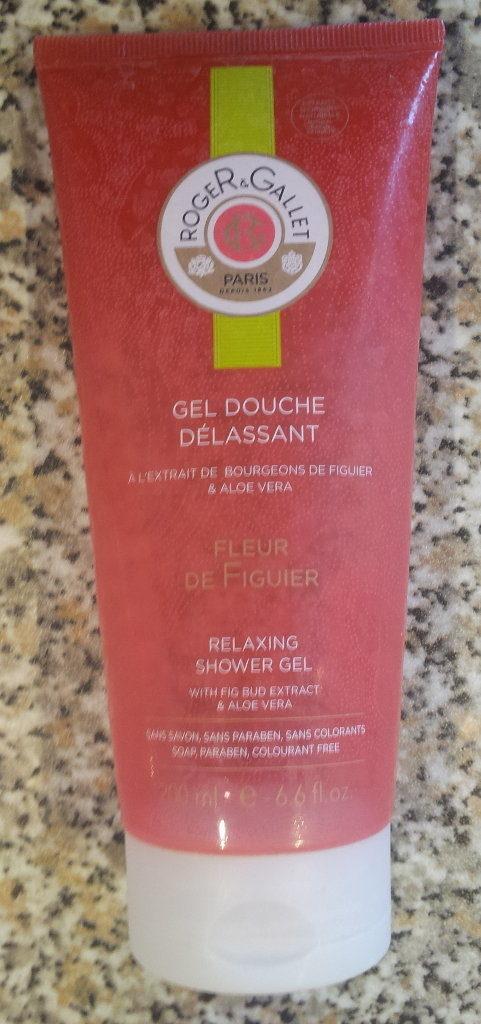 Gel douche délassant à l'extrait de bourgeons de figuier & aloe vera - Produit