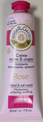 Crème mains et ongles Rose - Produit - fr