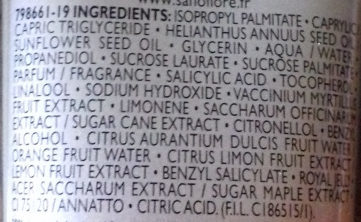 Masque des reines - Ingredients - fr