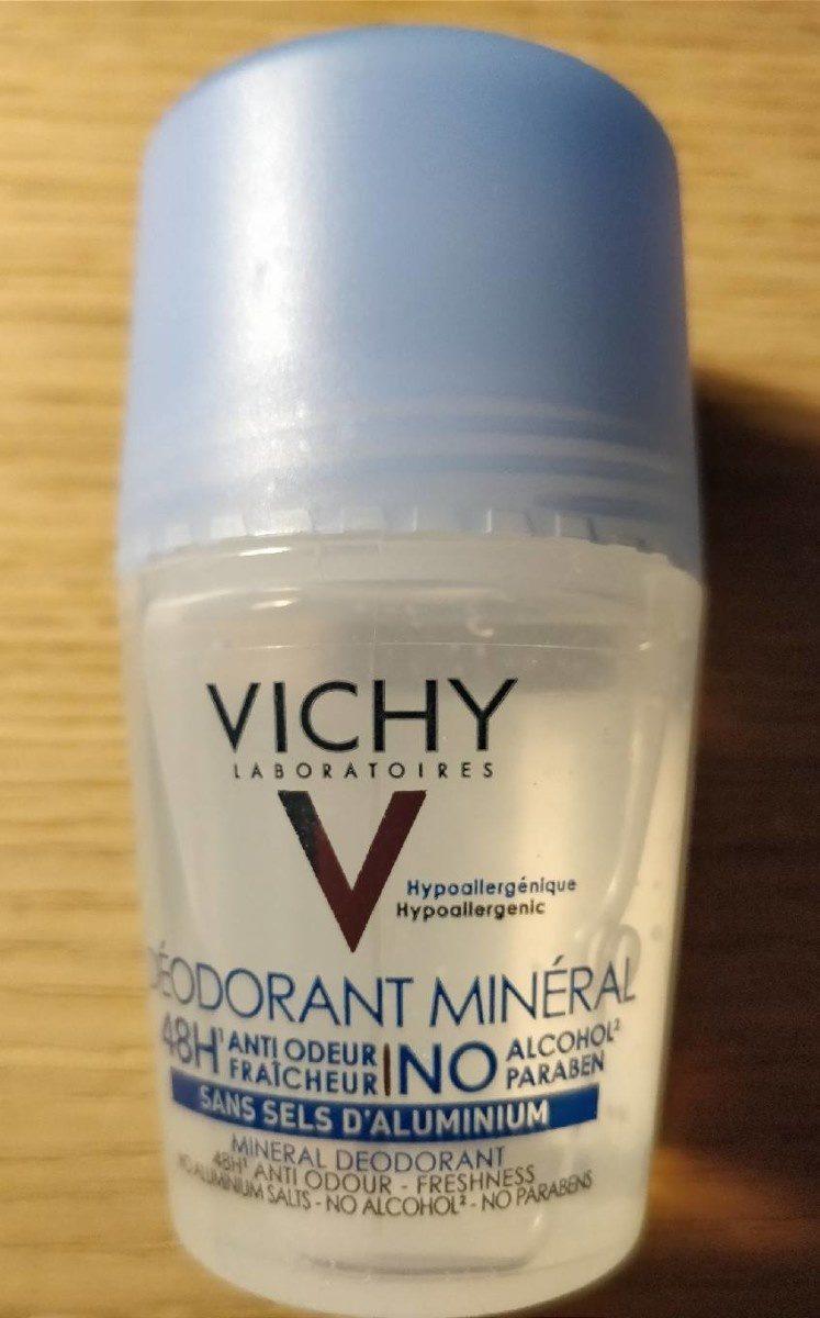 Vichy Déodorant Minéral Sans Sels D'aluminium Roll on - Produit