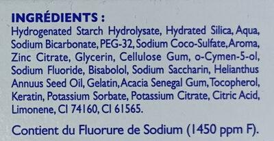 Soin global - Ingredients - fr
