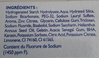 Soin global - Ingredients - fr