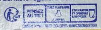 Soin global - Recycling instructions and/or packaging information - fr