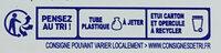 Antibactérien - Instruction de recyclage et/ou information d'emballage - fr