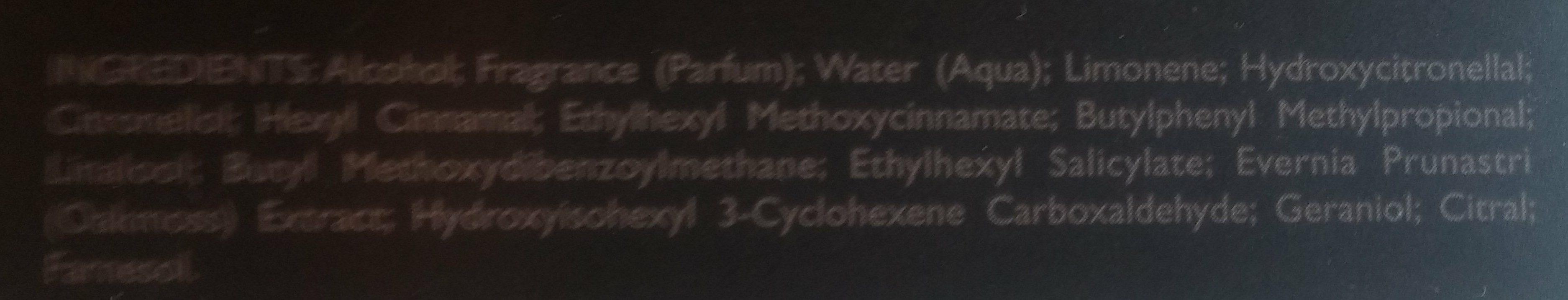Terre - Ingredients