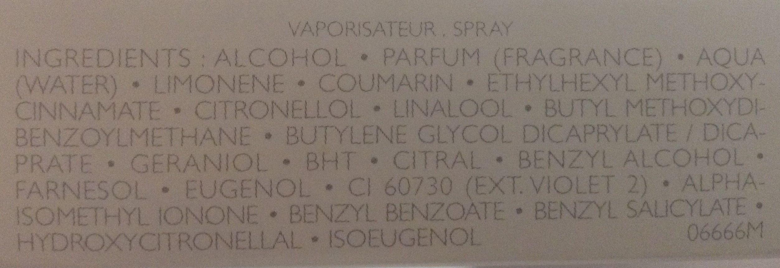 La petite robe noire eau de parfum - Ingredients