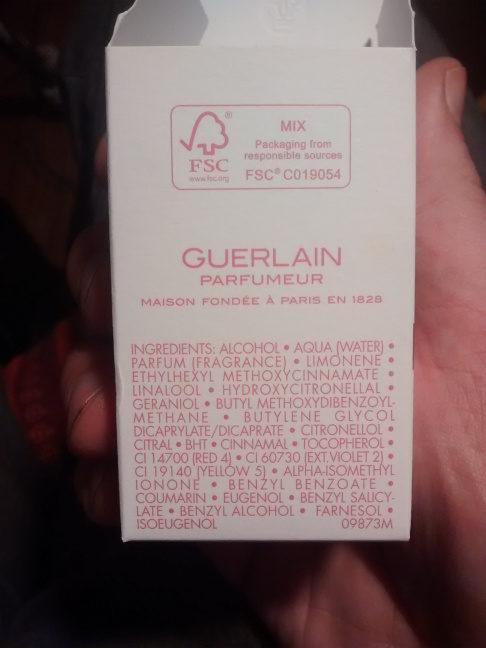 Aqua allégorie pera granita - Ingredients
