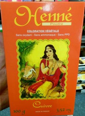 Henné poudre - Cuivre - Product - fr