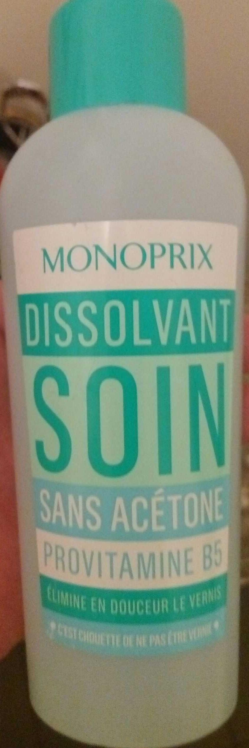 Dissolvant Soin - Product