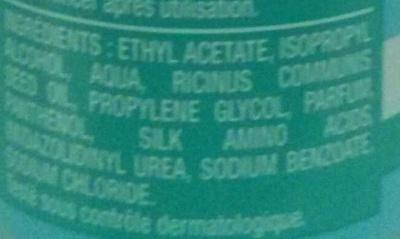 Dissolvant Soin sans acétone - Ingredients - fr