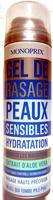 Gel de rasage peaux sensibles - Produit