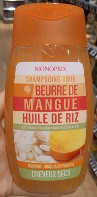 Shampooing doux beurre de mangue huile de riz - Product - fr