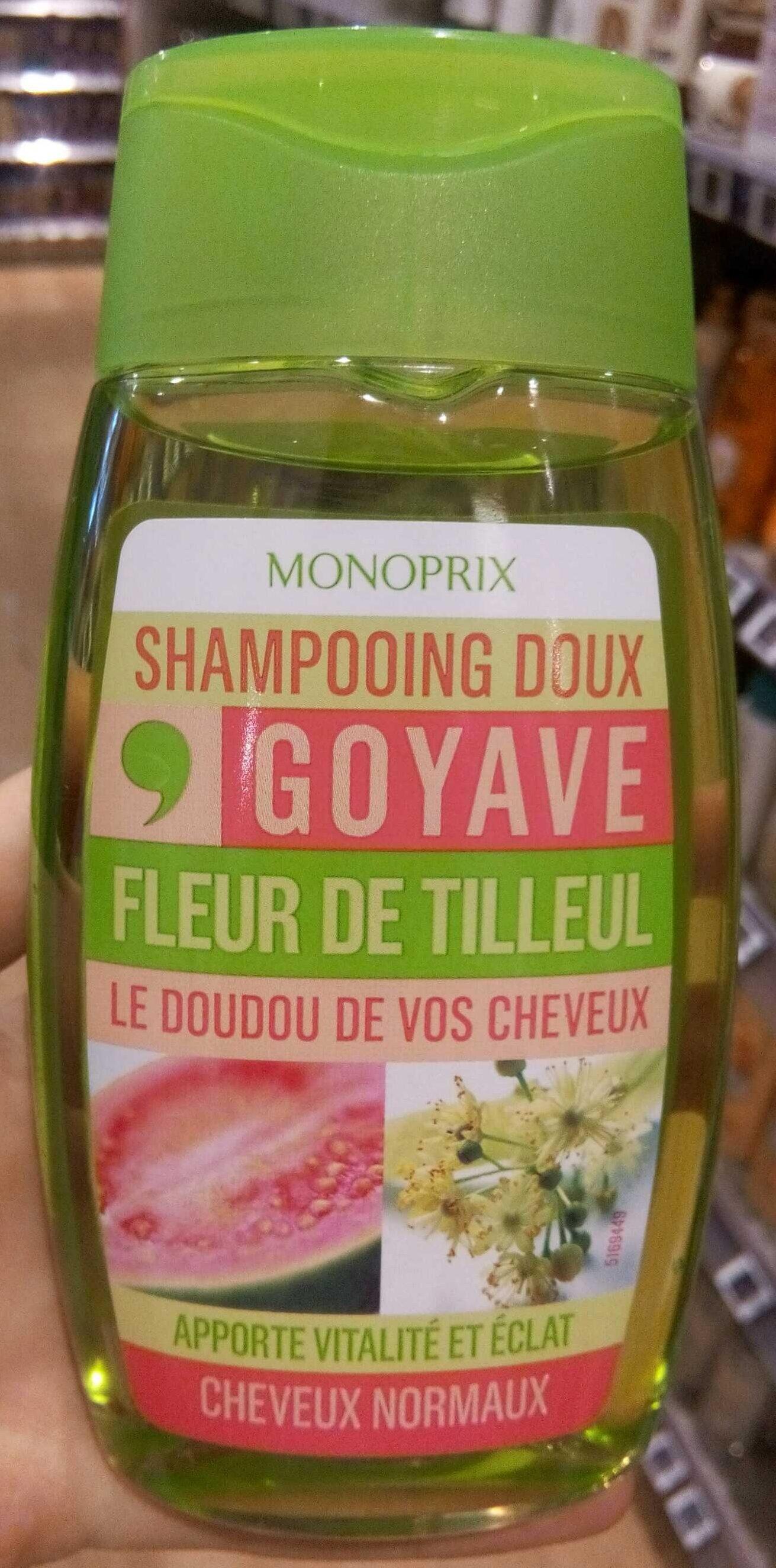 Shampoing doux goyave fleur de tilleul - Produit - fr
