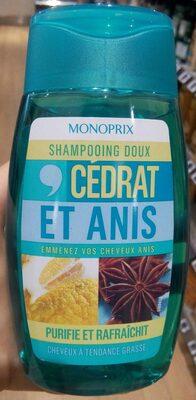 Shampooing doux cédrat et anis - Product - fr