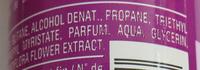 Déodorant magnolia parfumé - Ingredients