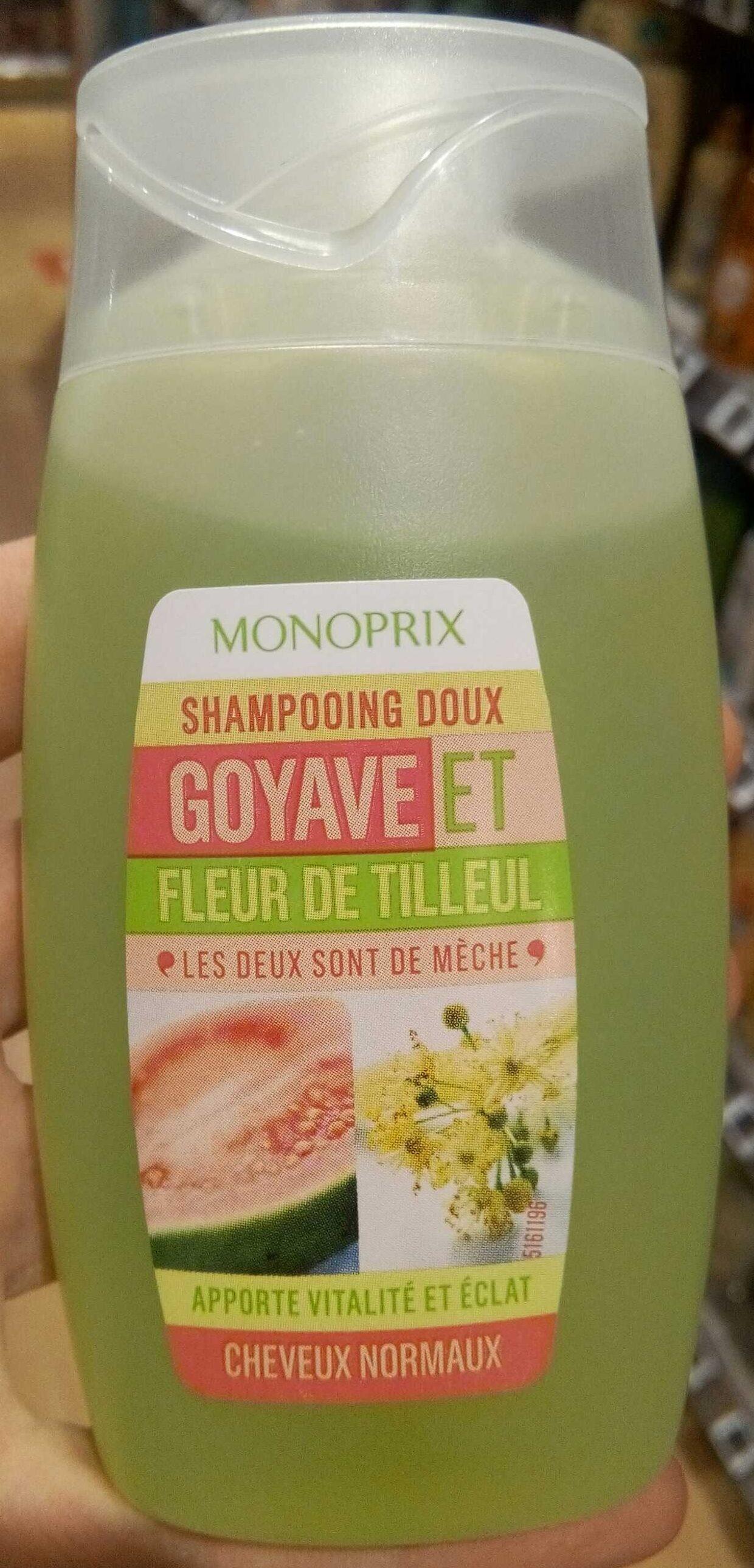 Shampooing doux goyave fleur de tilleul - Produit